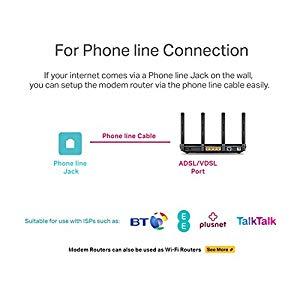 TP-LINK AC2600 Dual Band Wireless MU-MIMO Gigabit VDSL/ADSL